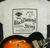BLACK DIAMOND  STRINGS T-SHIRT SHORT SLEEVE